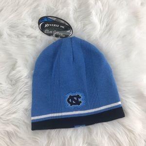 NWT North Carolina Tarheels Beanie Toboggan Hat
